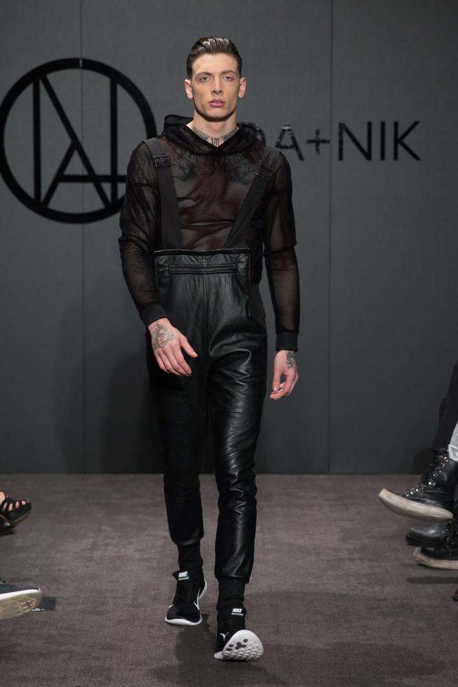Ada+Nik Autumn Winter 2015 Catwalk Show at the ME Hotel, London, UK