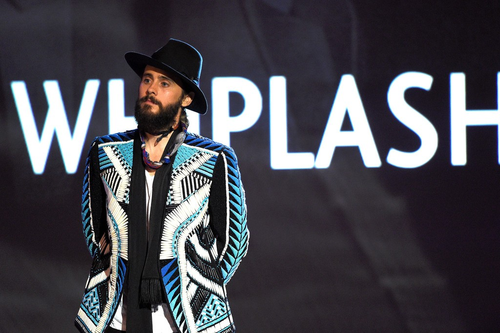 Jared-Leto-Balmain-SS15-embroidered-jacket-2