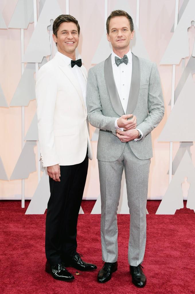 Neil-Patrick-Harris-David-Burtka-2015-Oscars