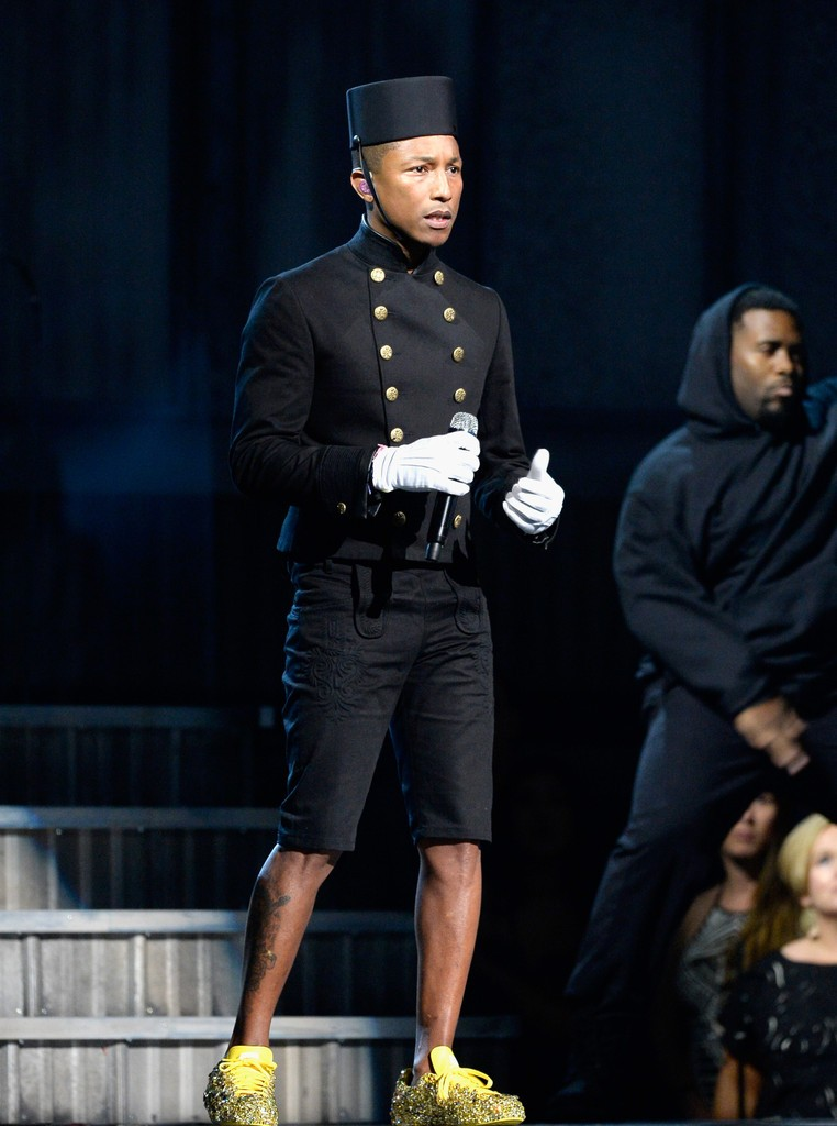 Pharrell-Chanel-jacket-Grammy-2