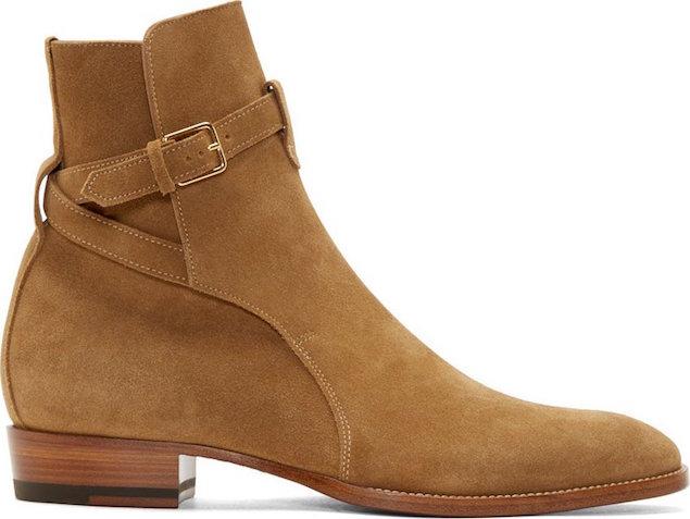 Saint-Laurent-brown-suede-heidi-boots-shoes