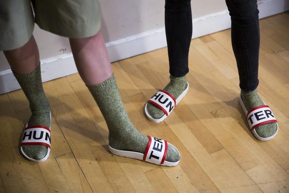 Hunter+Original+Backstage+London+Fashion+Week+Slides