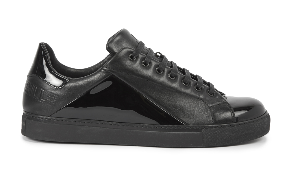 LOOK 18 Harvey Nichols X #BEENTRILL# X Mr Hare - Cunningham Leather Trainers