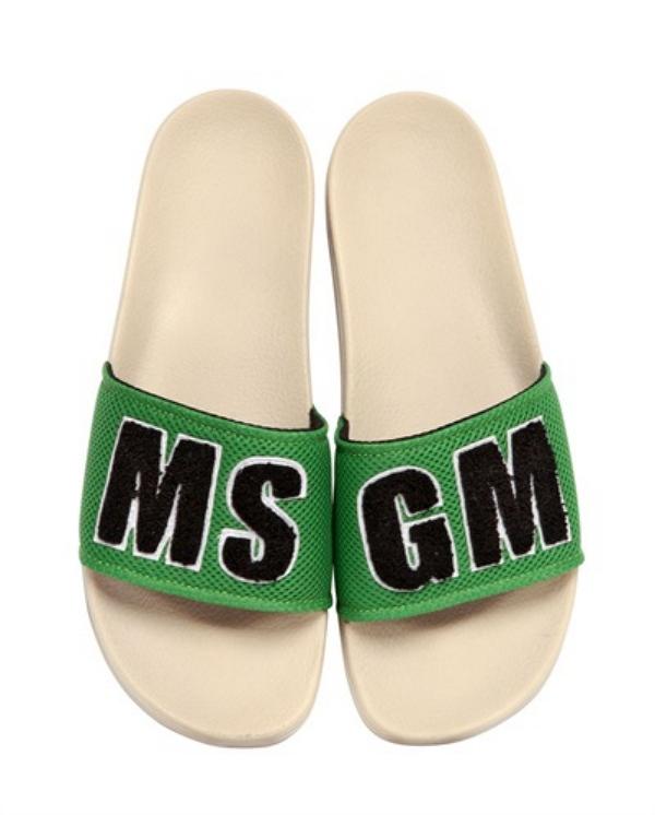 MSGM Terry Cloth slides
