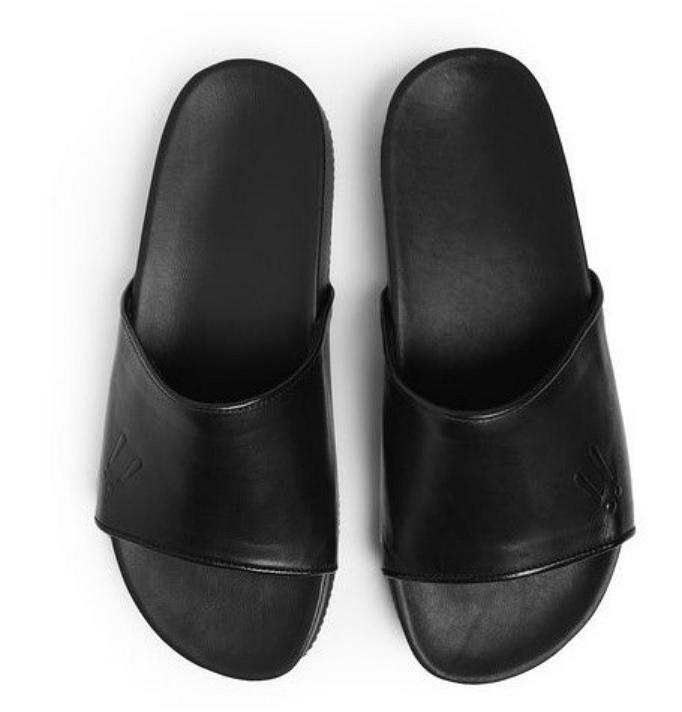 Mr Hare Leather Slides