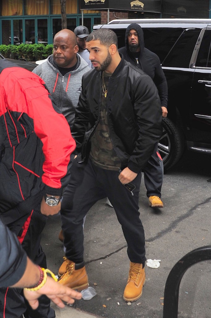 Drake seen out and about in New York City