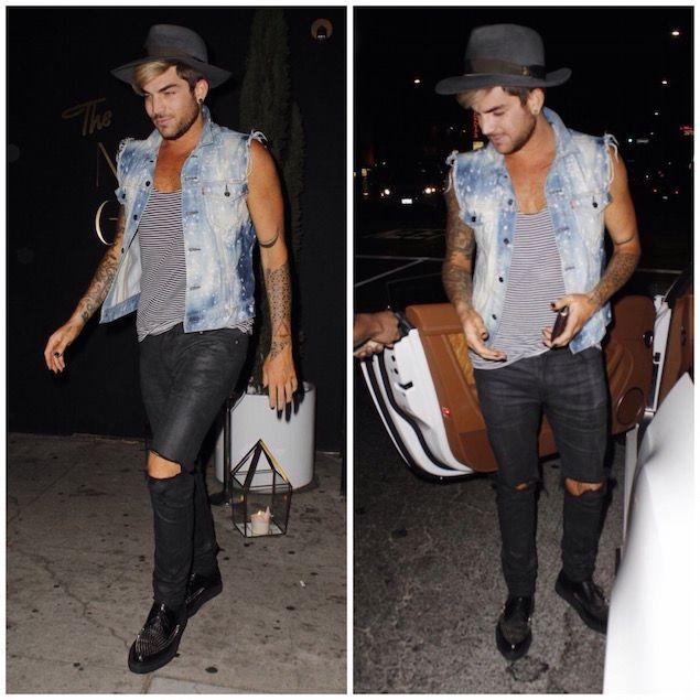Adam Lambert style