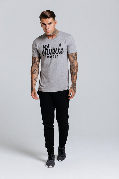 muscle-monkey-muscle-fit-scripted-tee-grey