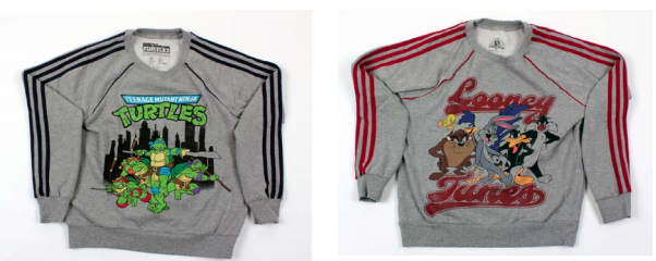 Examples of the similar imitations sold by Forever 21.