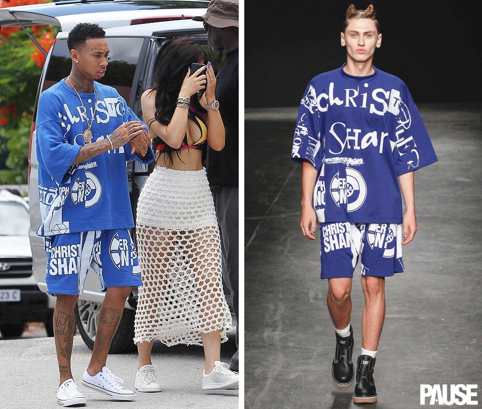 Tyga-in-Christopher-Shannon-SS15