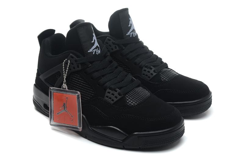 Air-Jordan-4-Retro-Black-Cat-Black-Black-Light-Graphite-For-Sale-5