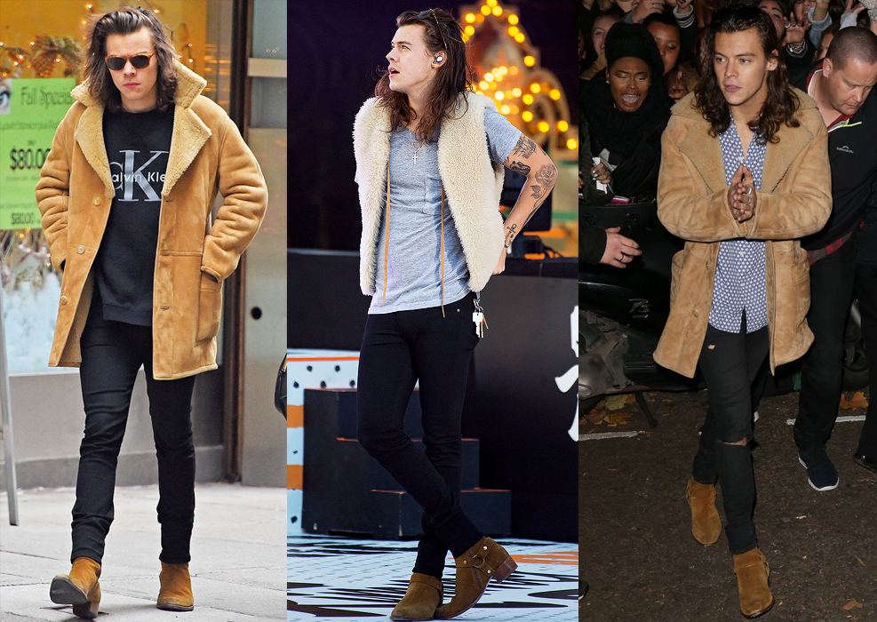 HarryStyles-Shearling FASHION
