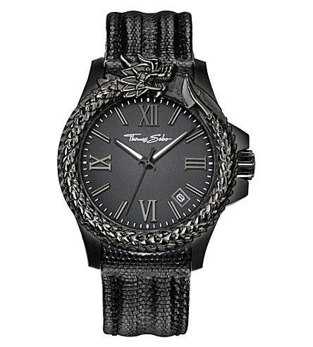 THOMAS SABO Rebel at heart dragon watch £275.00