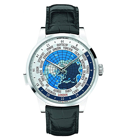 MONTBLANC 112308 heritage spirit stainless steel watch £3,895.00