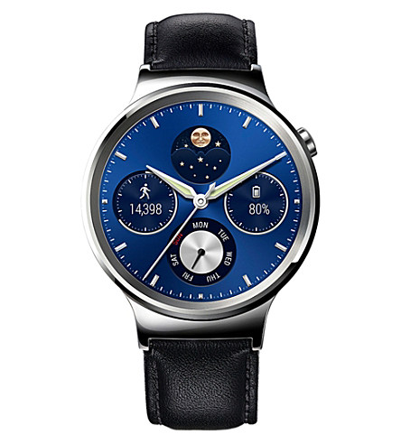 HUAWEI Classic leather-strap smart watch £289.00