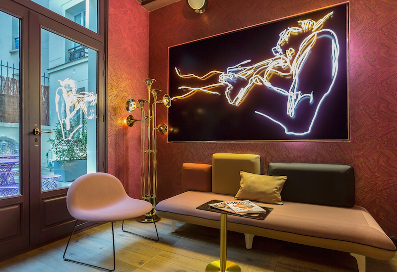 LOBBY 1 - IDOL HOTEL - PARIS 8