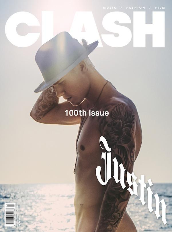 Justin Bieber Clash Magazine