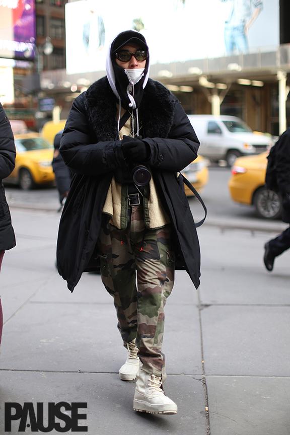 New York Fashion Week Feb 2016 Steet Style - Yeezy Season Show NYC (1)
