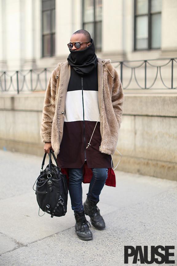 New York Fashion Week Feb 2016 Steet Style - Yeezy Season Show NYC (10)