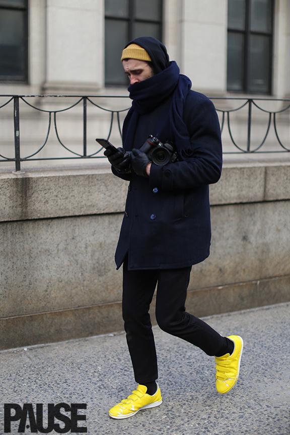 New York Fashion Week Feb 2016 Steet Style - Yeezy Season Show NYC (12)