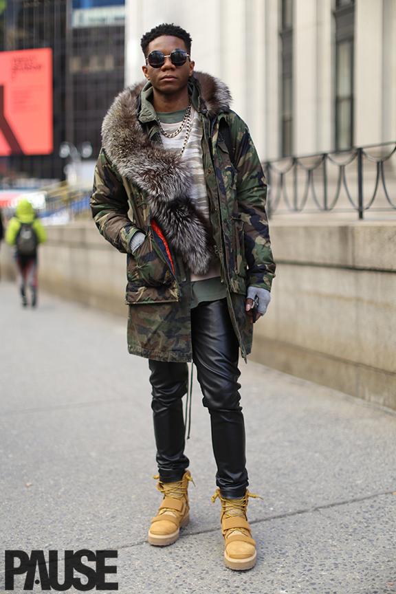 New York Fashion Week Feb 2016 Steet Style - Yeezy Season Show NYC (13)