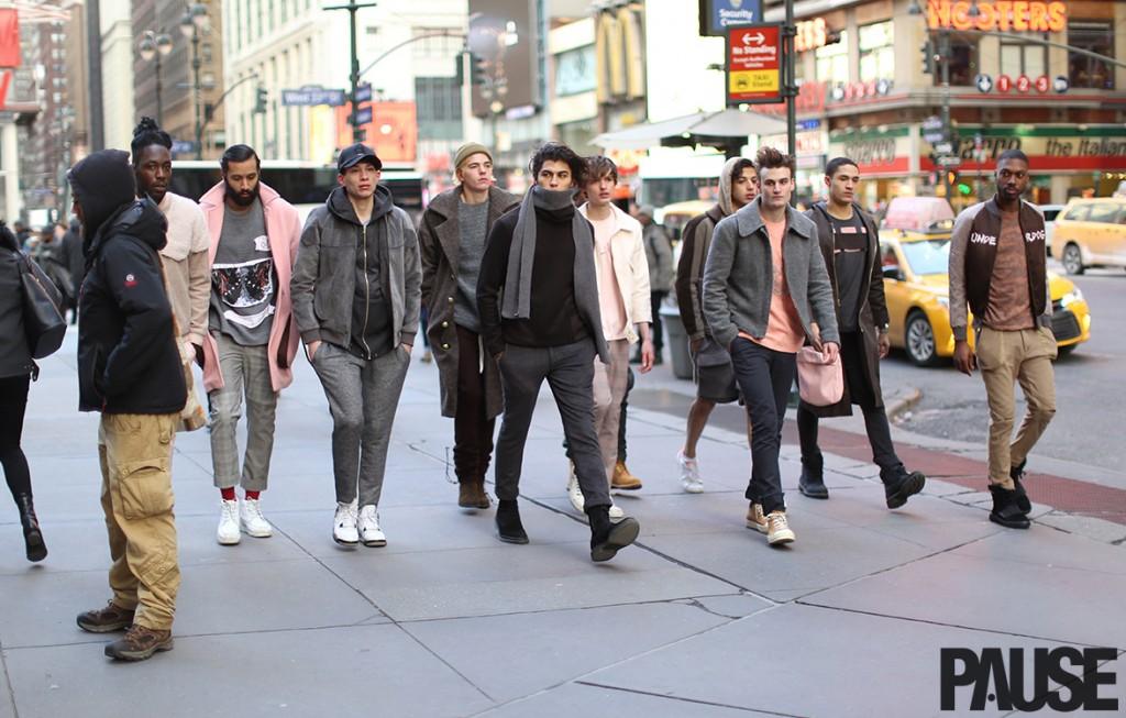 New York Fashion Week Feb 2016 Steet Style - Yeezy Season Show NYC (19)