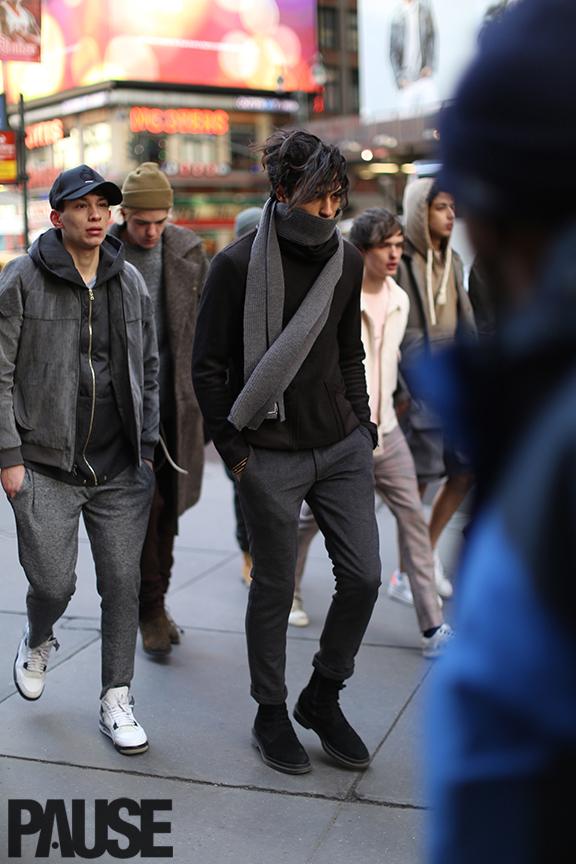 New York Fashion Week Feb 2016 Steet Style - Yeezy Season Show NYC (20)