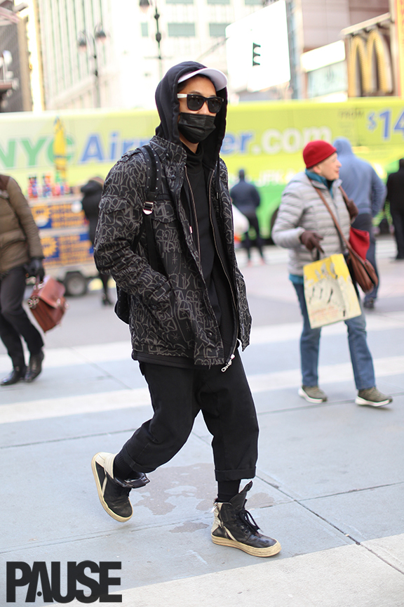 New York Fashion Week Feb 2016 Steet Style - Yeezy Season Show NYC (21)