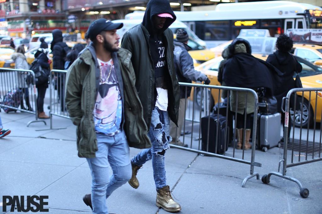 New York Fashion Week Feb 2016 Steet Style - Yeezy Season Show NYC (23)