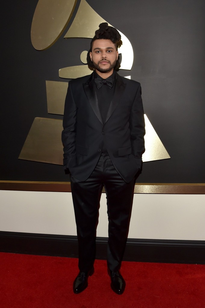 the-weeknd-grammys-red-carpet-2016