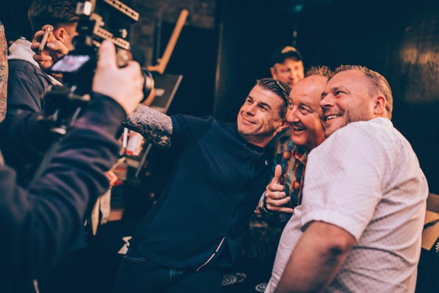 5 selfies with Steve Van Doren Vans 50th @HoV (c)Joe Hart