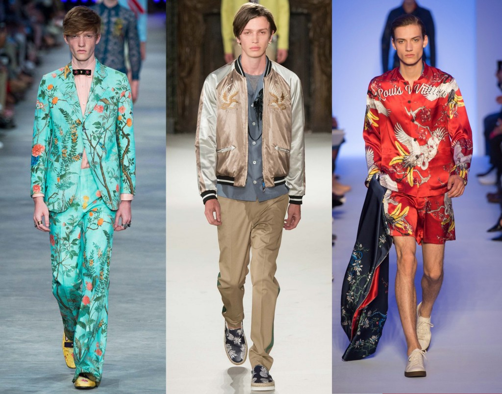 Chinoiserie Spring Summer 2016 Mens Trend