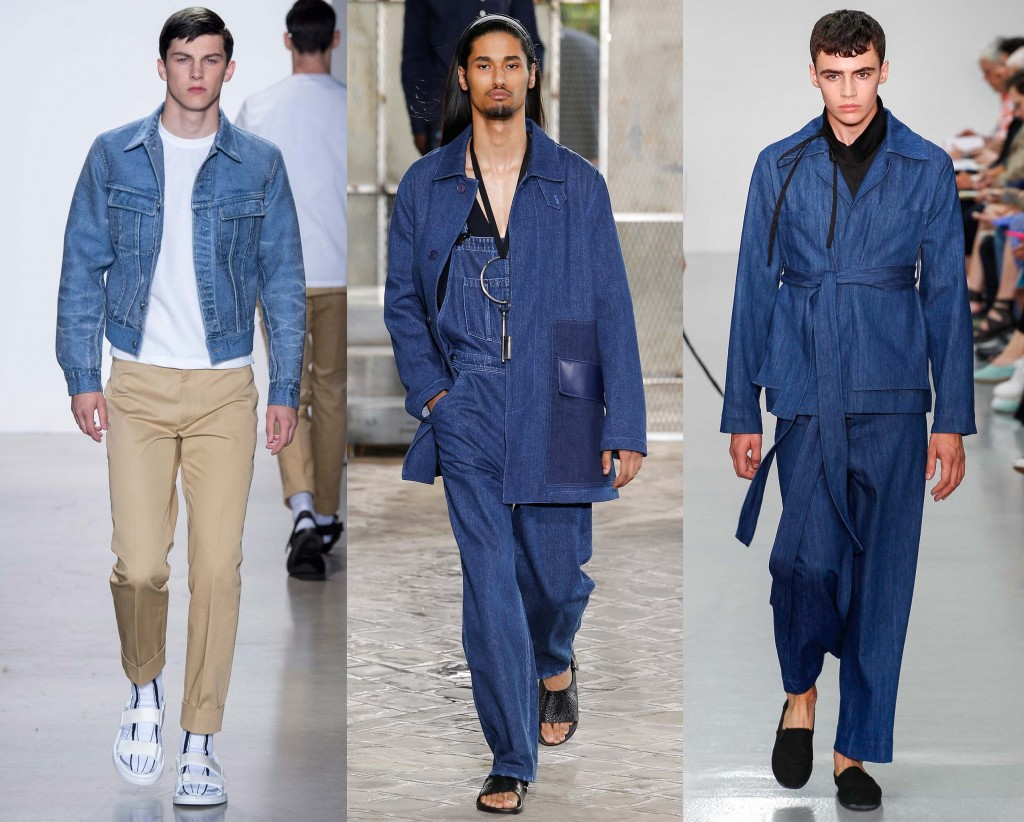Denim Spring Summer 2016 Mens Trend