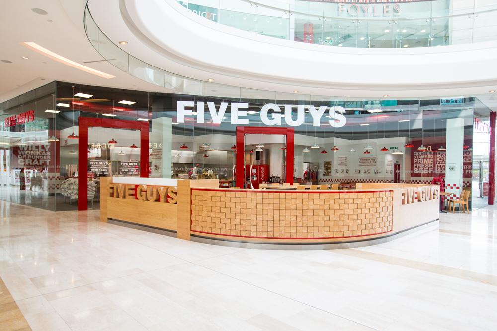 Five Guys Westfield HR-27