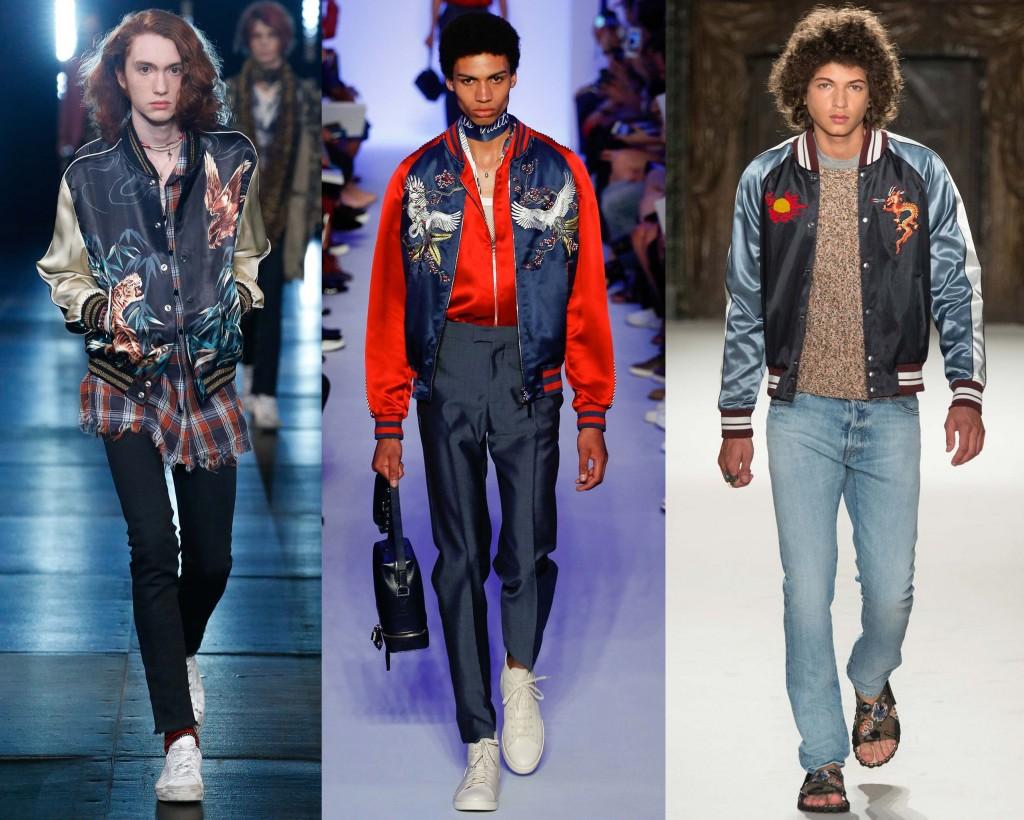 Souvenir jacket menswear SS16 Trend