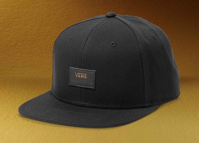 Vans_50th_Gold_Elevated_6PanelSnapback_Blk