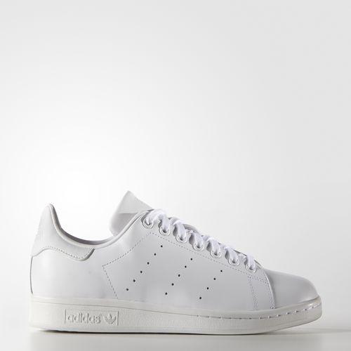White adidas stan smith sneakers