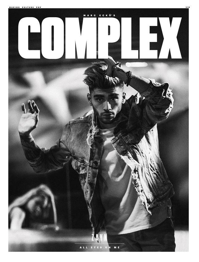 Zayn Malik Covers Complex Magazine April Issue