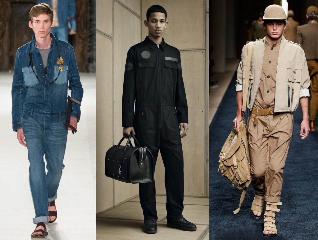 boiler suits ss16 trend menswear