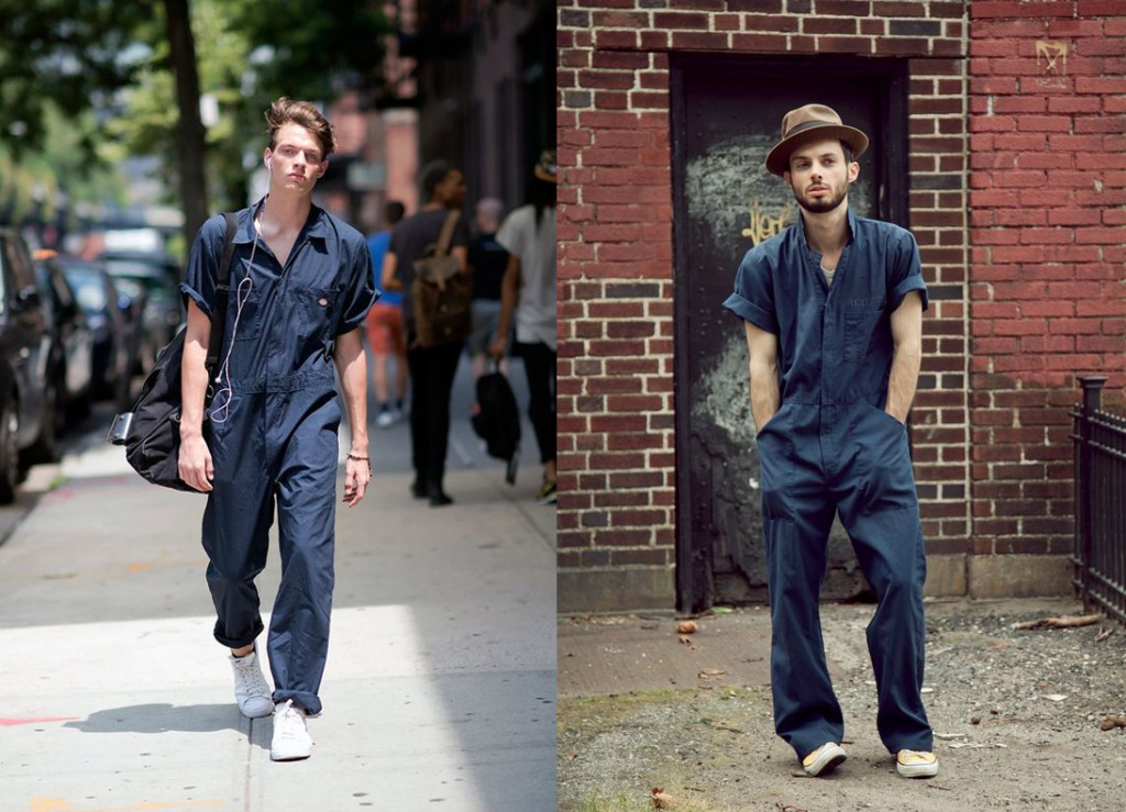 boiler suits summer trend mens street style