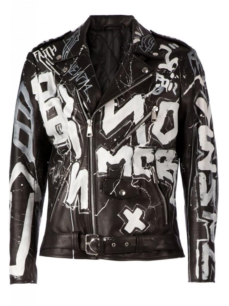 faith-connexion-black-graffiti-print-biker-jacket-product-1-052431736-normal