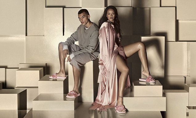 Rihanna shows off latest Puma Fenty collection