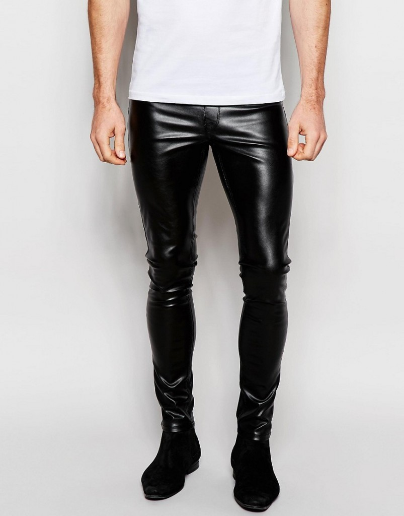 ASOS Leather Jeans