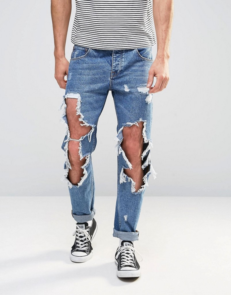 ASOS Ripped Jeans - Fear Of God Jeans