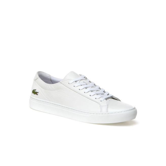 Lacoste L.12.12 in White Premium Leather