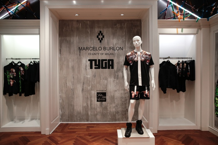Marcelo Burlon x Tyga: Capsule Collection Launch