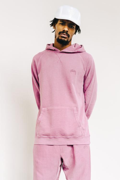 stussy summer lookbook 2016 lilac hoodie