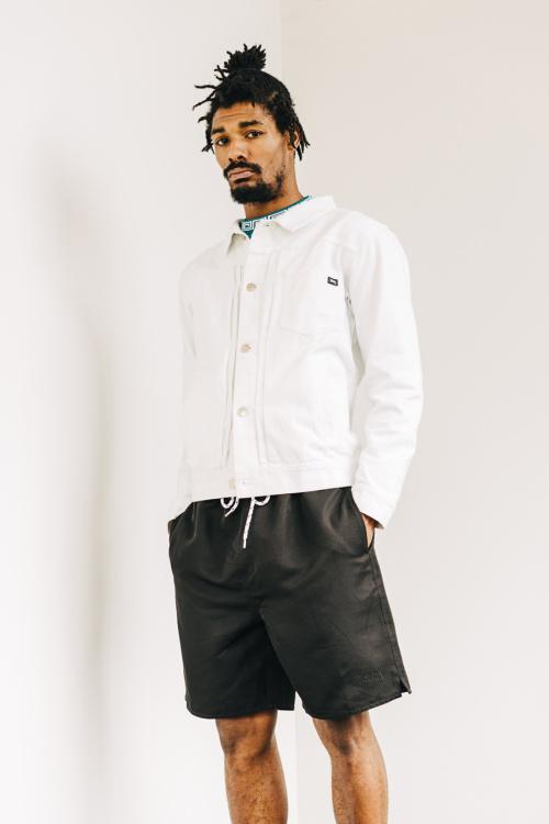 stussy summer lookbook 2016 white shirt jacket