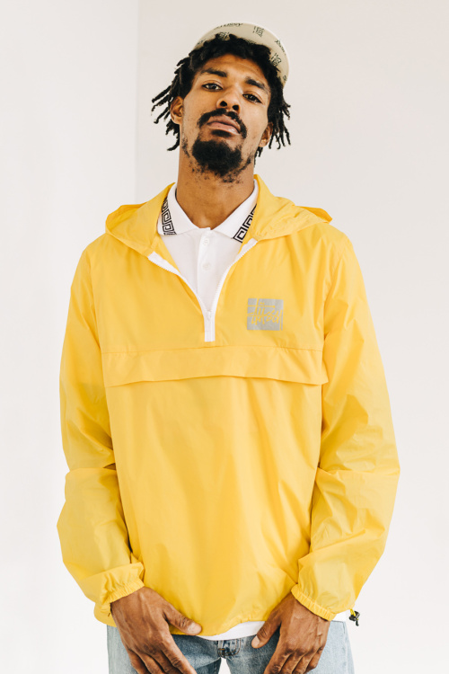 stussy summer lookbook 2016 yellow jacket