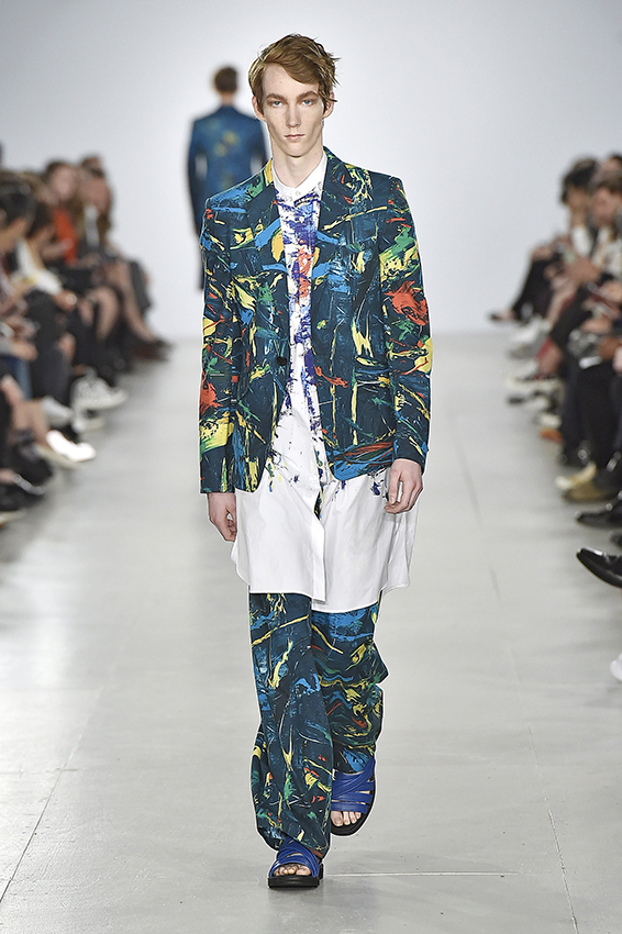 Songzio Spring Summer 2017 London Menswear Fashion Week Copyright Catwalking.com 'One Time Only' Publication Editorial Use Only